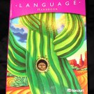 Harcourt Language Handbook Grade 4 2003 Homeschool Student edition