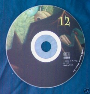 Harry Potter and the Goblet of Fire Audio CD Disc 12 only - Replacement Single CD
