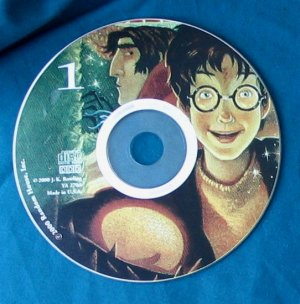 Harry Potter and the Goblet of Fire Audio CD Disc 1 only - Replacement Single CD