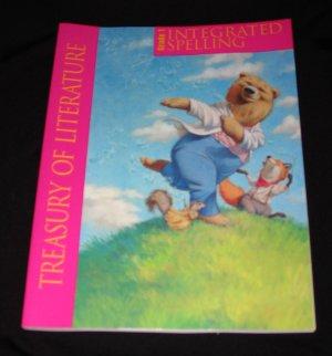 Harcourt Treasury of Literature Integrated Spelling Workbook Grade 1 Student  Edition