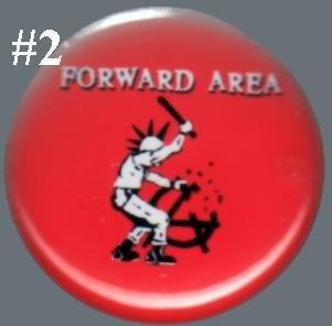 Forward Area - 'Smash Anarchy' pin