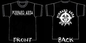Forward Area - 'The Most Hated Band In Punk' shirt