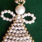 Handmade Beaded Angel Ornament