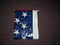 4x6 US Flag Embroidered Stars Sewn Stripes