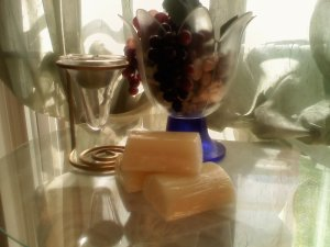 Cucumber/Cantaloupe      shea butter soap 3oz
