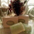 Green Tea & Cucumber  goat milk soap  2oz