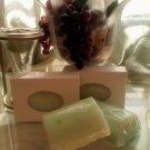 Green Tea & Cucumber     goat milk soap 3oz