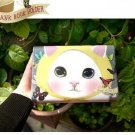 Cute Jetoy Choo Choo Cat Butterflies Multi Purpose Big Bank Passport Holder Case
