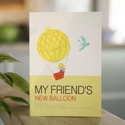 Cute Shinzi Katoh My Friend's New Balloon Any Year Diary Planner