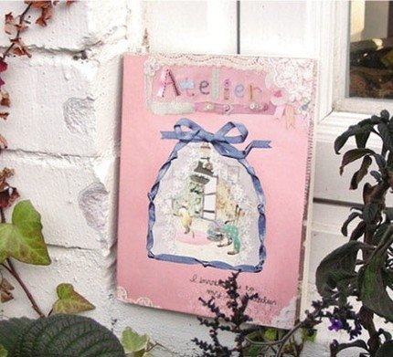 Pretty Sewing Flowers Theme My Atelier Any Year Planner Diary