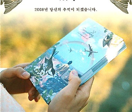Very Quaint Retro Style Doma SOMEDAY Poignant  Any Year DAILY Korea Planner Diary