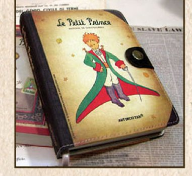 Lovely Le Little Petit Prince Any Year Daily Planner Diary With Faux Leather Cover And Pen