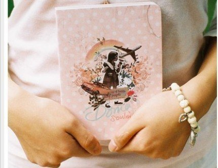 Very Pretty Retro Style Doma Pink Soulmate Any Year Planner Diary