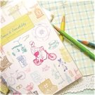 Pastel Vintage Toy Chair Home Any Year MONTHLY Slim Planner Diary