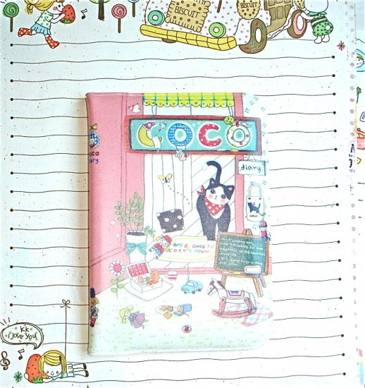 Coco Cat House Name Credit Card Case Holder