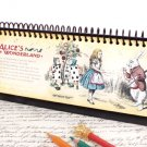 Alice In Wonderland Long Month Weekly Planner Diary