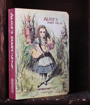 Alice In Wonderland Any Year Daily Planner Diary