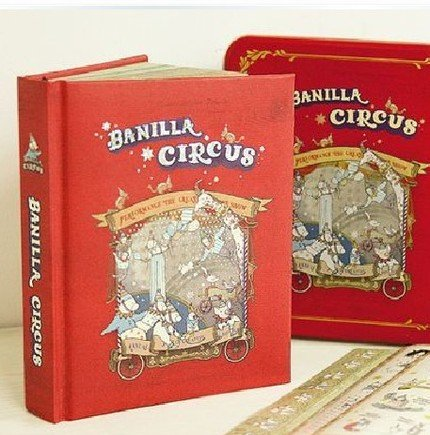 Banilla Circus Animals Illustrated Any Year Planner Diary