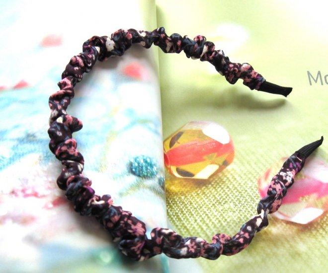 Zakka Purple Small Colorful Flowers  Hairband Headband
