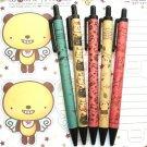 Kawaii Panda Bear Cats Artbox Recycled Paper Ballpoint Pens 5's