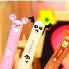 Kawaii Panda Bear Monkey Cat 2 Color Ballpoint Pens 3's