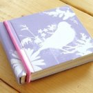 Zakka Purple Bird Flower Colorful Small Memo Note Pad
