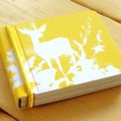 Zakka Yellow Deer Forest Animal Rainbow Colors Small Memo Note Pad