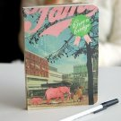 Retro Surreal Graphical Elephant In A Shopping Mall Illustrations Notebook Journal