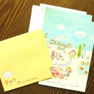 Zakka Colorful Home Animal Garden Flowers Letter Set Letterset