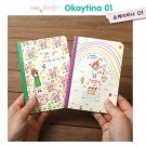 Kawaii Children Animal Pet Star Rainbow SMALL Notebook Journal 2 Design In A Set