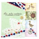 Zakka Duck Flower Lace Button Check Sticky Post It Note Memo Pad