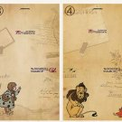 Wizard Of Oz Dorothy Small Postcard Greeting Card 2's 03 / 04