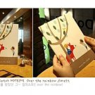 Shinzi Katoh Rainbow Forest Tree Children Medium Size Notebook
