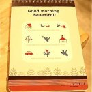 Shinzi Katoh House Bird Beautiful Day Medium Sketch Pad Notebook