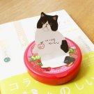 Jetoy Retro Black White Kitten Cat Animal Sticky Scrapbook Paper Note Pad