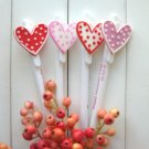 Zakka Bird Hearts Animal Message Ballpoint Pens 4's