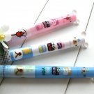 Kawaii Colorful Bear Animal 2 Color Ballpoint Pens 3's