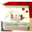 Shinzi Katoh Red Riding Hood Party Small Memo Note Pad