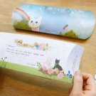 Jetoy Cats Rainbow Cloud Garden Greeting Card Letter Set Gift Box Set