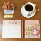 Jetoy Cat Garden Flowers Letter Set Letterset