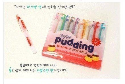 Kawaii Rainbow Multipurpose Glass Plastic Nail Art Deco Craft Pens
