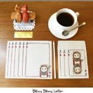 Jetoy Cat Playing Cards Flowers Ace Letter Set Letterset