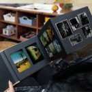 Black Foldable Photo Display Album