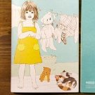 Lovely Little Girl With Her Toys And Cats Notebook Journal
