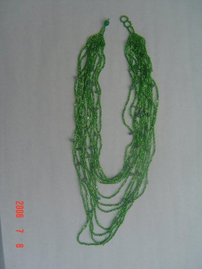 Beads Semi Precious Layered Necklace