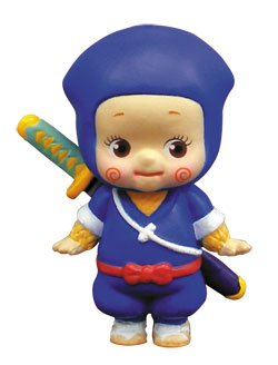 Rose O'Neill Kewpie VS Hattori the Ninja Japan Figure