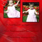 InspiredGFX Precious photo collage for your daughter