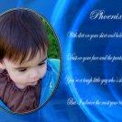 InspiredGFX Baby boy photo with poem