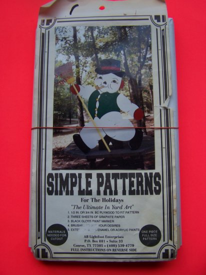 Snowman Christmas Project Woodworking Yart Art Decoration Outside Display Ornament
