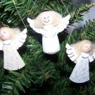 Wood Angel Ornaments Christmas Gift Decoration 1 Penny USA Shipping